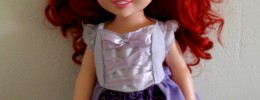 Free Rapunzel Dress Pattern for 15″ doll