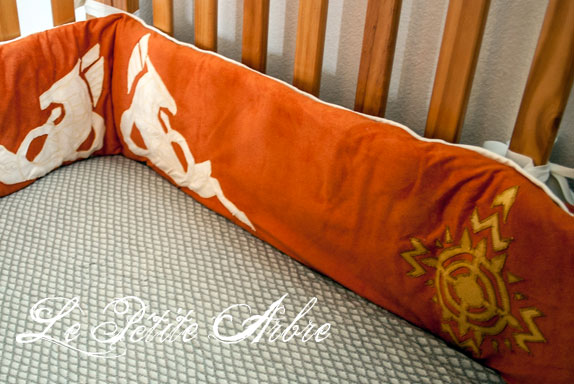 LOTR Crib Bumper: Rohan