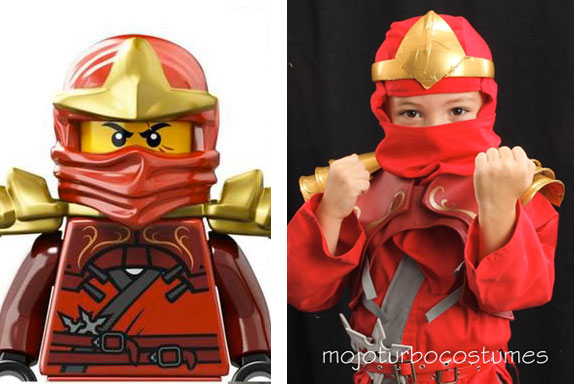 Kai (red) Ninjago Costume Tutorial