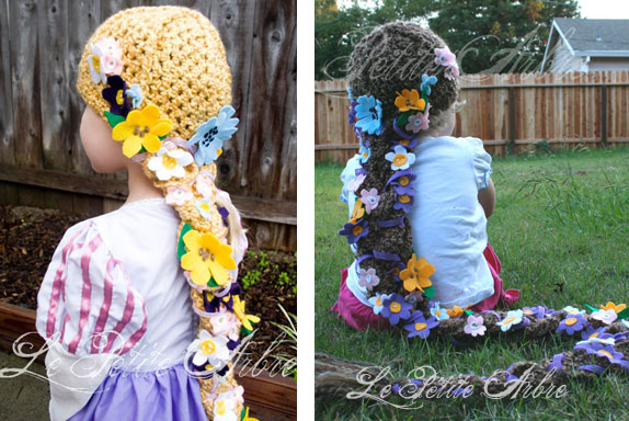 Rapunzel Dress & Hat tutorial