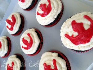 FIre Nation cupcakes