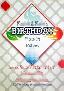 Avatar Invite
