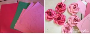 oragami paper roseslogo