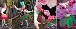 Rose Fairy Costume: Easy