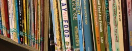 Organizing books for kids