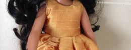 Dressing a 14″ doll